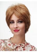 Damen Bob Kurz Blonde Stil Perücke