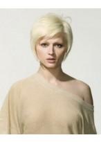 Kurz Weiblich Haarschnitt Perücke