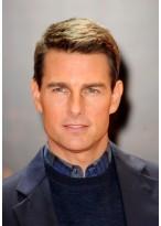Tom Cruise Vollspitzen Kurze Synthetische Gerade Perücke