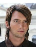 Lang Lässig Haarschnitt Perücke