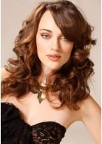 Lange Haarstil mit Locken Perücke
