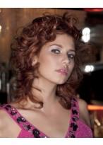 Haarschnitt Mit Locken Und Schichten Perücken