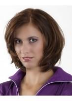 Frisur Für Lebhafte Damen Nackenlang Perücken