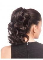 16 Inch Synthetisch Natürlich Lockig Haarteile Pferdeschwanz