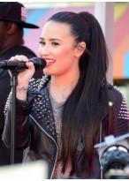 Demi Lovato Toll Extrem Lange Haare Clip In Pferdeschwanz
