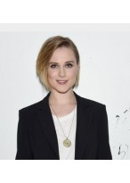 Evan Rachel Wood Schick Bob Kurze Full Lace Perücke