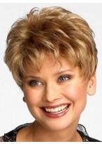 Pixie Haarschnitt Für Frauen Über 50 Perücke