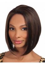Kurze Gerade Haarstil Synthetische Perücke
