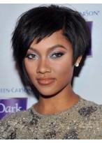 Ausgezeichnete Kurze Schwarze African American Perücke für Frauen