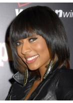 Süße Kurze Gerade African American Perücke für Frauen