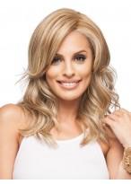 Blonde Wellen Haar Perücke