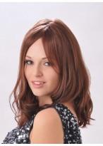 Rote Wellen Haar Perücke