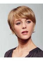 Flexible Kurze Haarschnitt Perücke