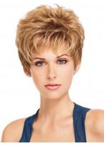 Kurze Haar Perücke für Frauen mit dünnes Haar