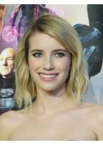 Emma Roberts Kurze Wellen geschnittene Perücke