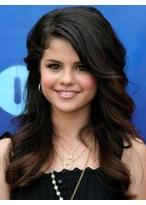 Selena Gomez's Lange Wellen Spitze Perücke