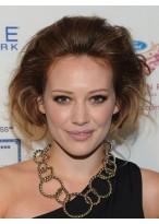Hilary Duff's Elegante Haarstil Spitze Perücke