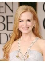 Nicole Kidman 's Populäre Lange Haarstil Spitze Perücke