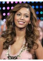 Beyonce Synthetische Lange Locken Perücke
