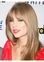 Taylor Swift Lange Gerade Synthetische Blonde Perücke