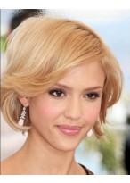Jessica Alba Kurze Haarschnitt Perücke 2014