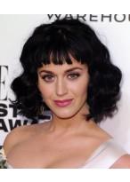 Katy Perry 2014 Kurze Wellen Schwarze Perücke