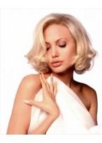Angelina Jolie Kurze Locken Perücke