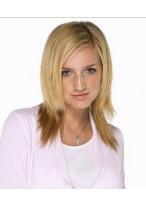 Ashlee Simpson Mittellange Gerade Blonde Perücke