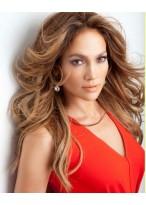 Jennifer Lopez Lange Locken Perücke