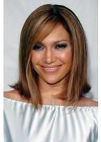 Jennifer Lopez Lange Gerade Lace Front Perücke