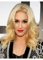 Gwen Stefani Mittellange Blonde Perücke