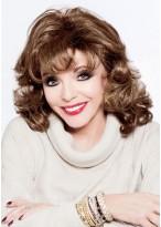 Joan Collins Perfekte Wellen Perücke