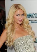 Paris Hilton Lange Wellen Perücke