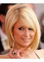 Paris Hilton Blonde Bob Perücke