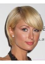 Paris Hilton'S Kurze Blonde Perücke