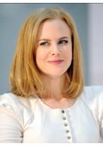 Nicole Kidman Schulterlange Echthaar Perücke