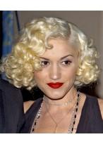 Gwen Stefani Mittellange Locken Perücke