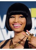 Nicki Minaj's Echthaar Kurze Länge Perücke