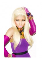 Nicki Minaj's Lange Gerade 100% Remy Echthaar Perücke