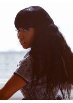 Nicki Minaj's Lange Wellen Hitzebeständige Synthetischeperücke