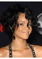 Rihanna's Kurze Haar Kappenlose Perücke