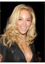 natürlich Echthaar Beyonce Wellen Perücke