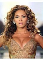 Beyonce Lange Süße Wellen Remy Echthaar Perücke