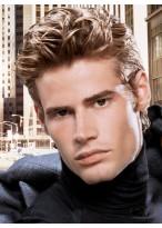Modisch männliche Haarstil Perücke
