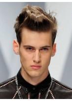 Super Cool Haarstil männliche Spitze Perücke