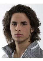 Lange Haarstil Perücke für Männer