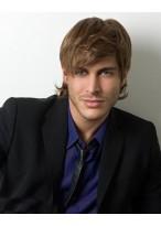 Modern Optik männliche Haarstil Perücke