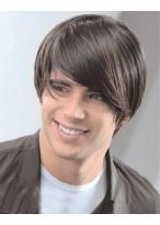 Lustige männliche Haarstil Perücke