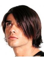 Modische männliche Haarschnitt Perücke