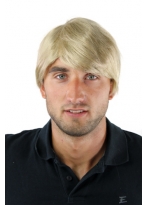 Top Qualität Kurz Perücke Herren Cool Blond